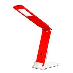 Светодиодная настольная лампа TF- 310_5 LED - для мастера, бело-красный