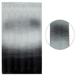 Металлизированные наклейки для ногтей TUFI Profi SW-014