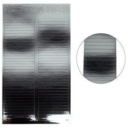 Металлизированные наклейки для ногтей TUFI Profi SW-016