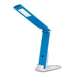 Светодиодная настольная лампа TF- 310_5 LED - для мастера, бело-синий