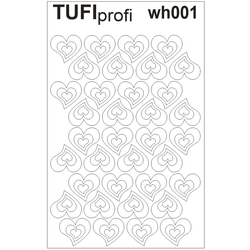 Трафареты для френча TUFI Profi WH-001