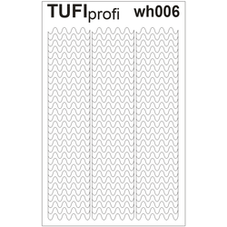 Трафареты для френча TUFI Profi WH-006