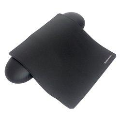 Комплект подлокотник Прямой Black 39 см + коврик Rainbowstore