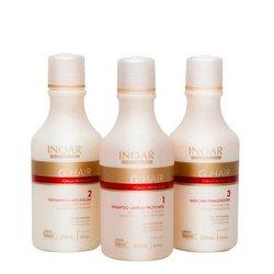 Набор для кератинового выпрямления Inoar G.Hair, 250 мл