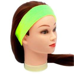 Повязка для волос YRE, сплошная - салатовая, 1 шт