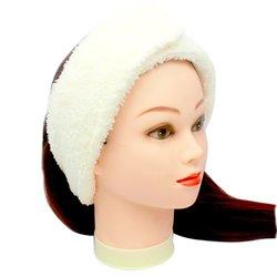 Повязка для волос Украина, махра - белый, 1 шт