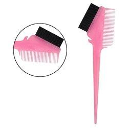 Кисть для покраски Salon для покраски двусторонняя - розовый