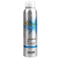Luxliss Volumist Coconut Oil Dry Shampoo Original Classic - сухой шампунь для волос, 220 мл