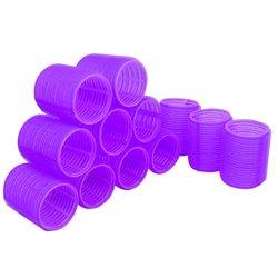 Бигуди липучки YRE 48 мм фиолетовый 12 шт