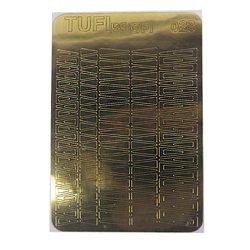 Металлизированные наклейки для ногтей TUFI Profi GD-023