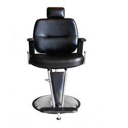 Барбершоп парикмахерское кресло барбер LUPO черное