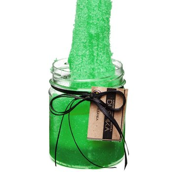 Скраб-жвачка Dushka (Душка) - Зеленое яблоко, 200 мл : Tufishop
