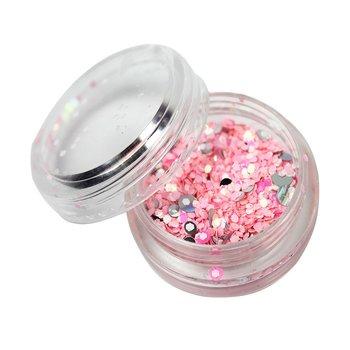 Декор брокат бледно-розовый : Tufishop