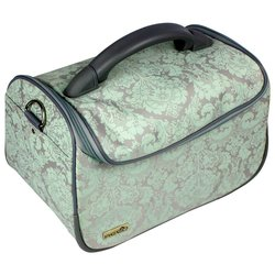Сумка (чемодан) для мастера - серый с орнаментом (8091)