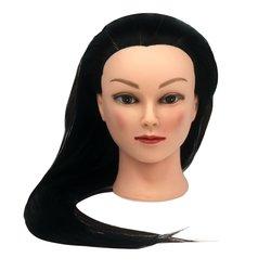 Учебная голова для причесок, манекен тренировочный для парикмахера YRE Girl, 60 см