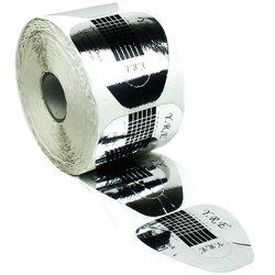 Форма для наращивания ногтей YRE - серебряный, 500 шт