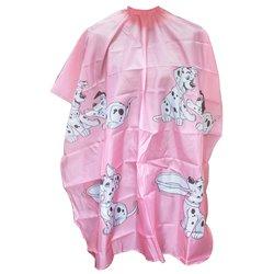 Пеньюар YRE детский - розовый (принт-далматинцы)