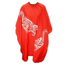 Пеньюар YRE - красный (принт-бабочки) (PNU-12)
