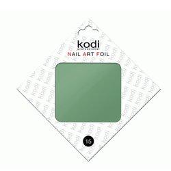 Фольга для литья Kodi №15 - бледный зеленый