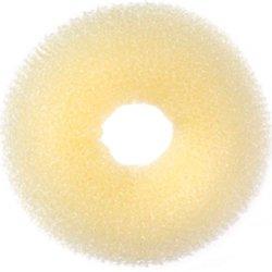 Валик (бублик) - светло-бежевый, рельефный, 10 см