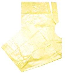 Пеньюар одноразовый Украина - желтый, 100 шт