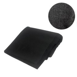 Полотенца одноразовые Украина 40х40 см, гладкие - черный (50 шт)