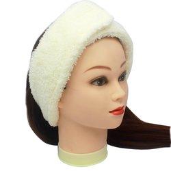 Повязка для волос Украина, махра - бежевый, 1 шт