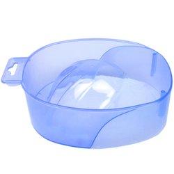 Ванночка для маникюра YRE, синий прозрачный
