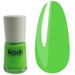 Лак №18 KODI -  зеленый, 15 мл