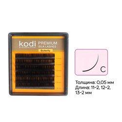 Ресницы Kodi изгиб C 0.05 6 рядов: 11-2,12-2,13-2 (20033514)