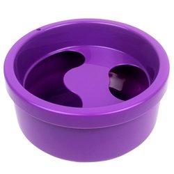 Ванночка для маникюра круглая, фиолетовый