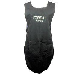Фартук Loreal двойной черный жатка 90х47 см