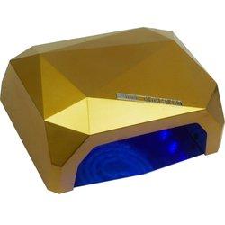 LED+CCFL лампа многогранник 36 Вт сенсор, золотистый