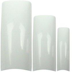Типсы Kodi French Tips - белый, 100 шт (20019877)