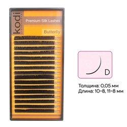 Ресницы Kodi изгиб D 0,05 16 рядов: 10-8, 11-8 мм (20032890)