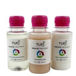 Домашний набор для кератирования Tufi Profi для нормальных волос
