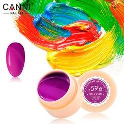 Гелевая краска №596 Canni, 5мл
