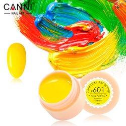 Гелева фарба №601 Canni, 5мл