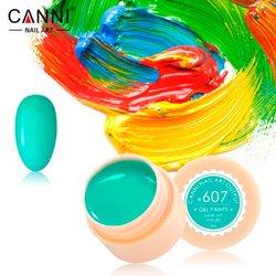 Гелевая краска №607 Canni, 5мл