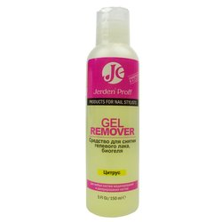 Jerden Proff Gel Remover - жидкость для снятия гель-лака цитрус, 150 мл