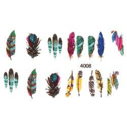 Слайдер дизайн для ногтей 4008 - поп-арт