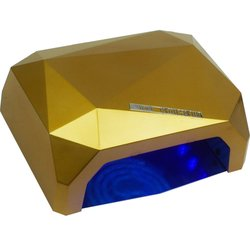 LED+CCFL лампа кристалл 36 Вт сенсор, золотистый