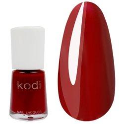 Лак №03 KODI 15 мл, темно малиново-красный