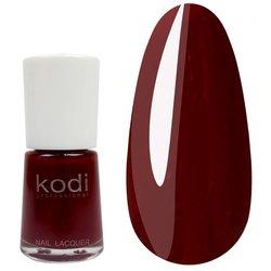 Лак №10 KODI 15 мл, красно-коричневый