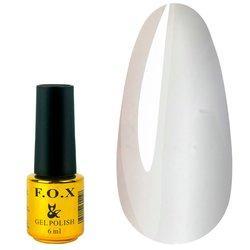 Гель-лак F.O.X Gradient №001, 12 мл, белый