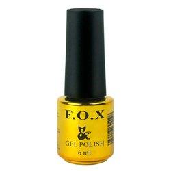 Топ F.O.X Top Coat Strong - верхнее покрытие для гель-лака, 6 мл