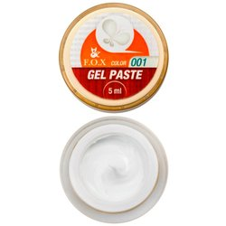 Гель-паста FOX Gel Paste №1 - белый, 5 мл