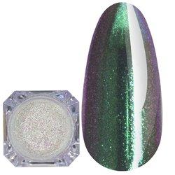 Зеркальная пудра Born Pretty №5 - зелено-фиолетовый