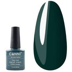Гель-лак Canni №126 - зелено-синій, 7,3 мл
