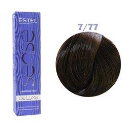 Краска для волос Estel Sense №7/77 (интенсивный коричневый)
